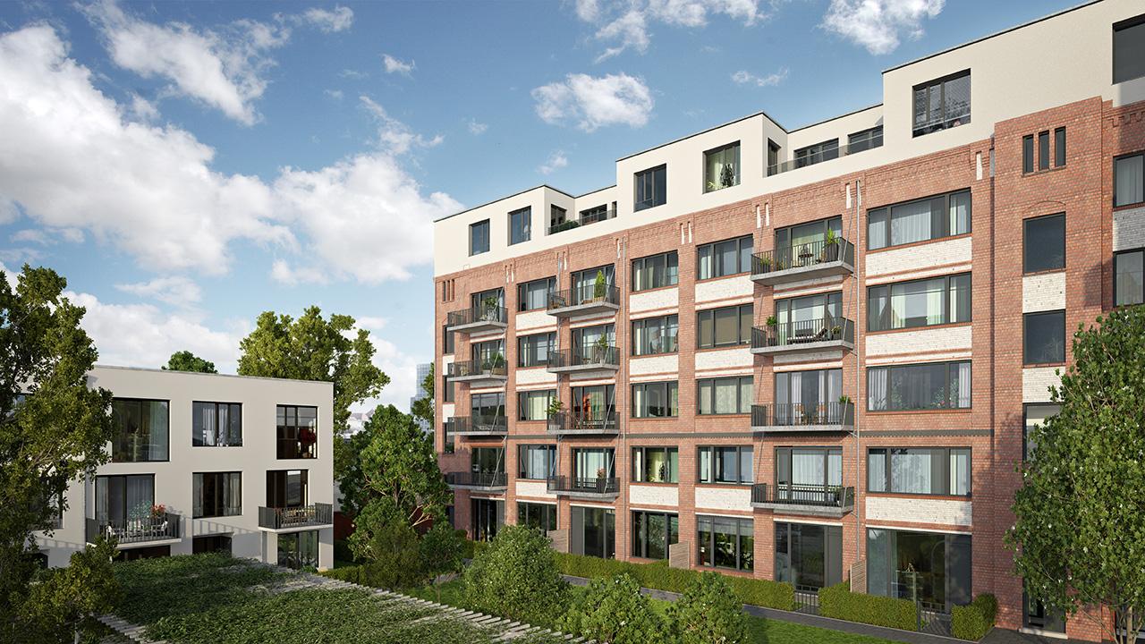 generous balconys and terraces